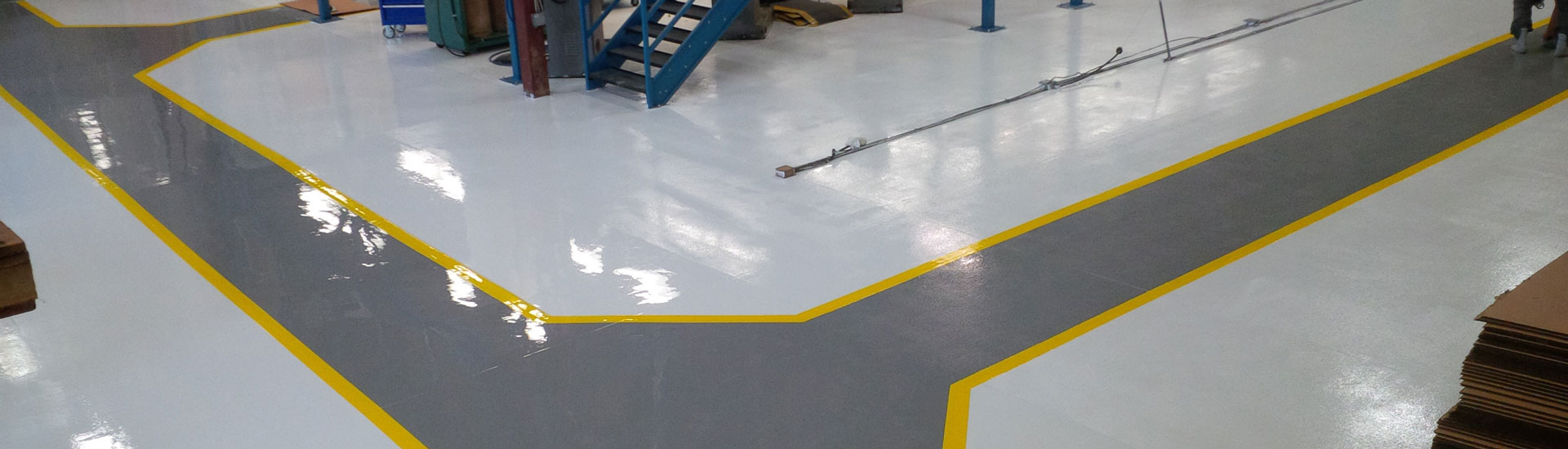 Commercial - Epoxy urethane coating